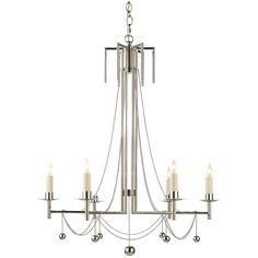 Visual Comfort Lighting Studio Millo 6 Light Chandelier