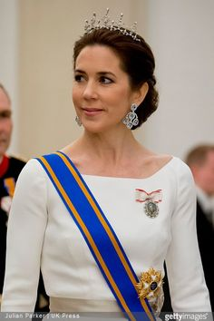The Queen and The Prince Consort the hosted a state dinner at Christiansborg Palace on March 17, 2015 in honour of The King and The Queen of The Netherlands. From the Danish royal family attended the Crown Prince Frederik and Crown Princess Mary, Prince Joachim and Princess Marie, Princess Benedikte, HH Prince Richard and HH Princess Elisabeth.