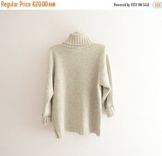 SALE Vintage Sweater // Made in Italy Soft and Cosy by Yugovicheva