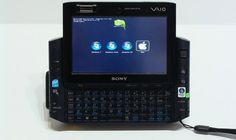 Sony VAIO UX handheld gets wireless, quad OS, inflated sense of self New Technology Gadgets, Computer Gadgets, Sony Electronics, Cool Cases, Electronic Devices, Mac Os, Wireless Speakers, Logitech, Natural Disasters