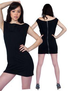 Fine Jersey Reversible Sheath Dress - American Apparel - $45