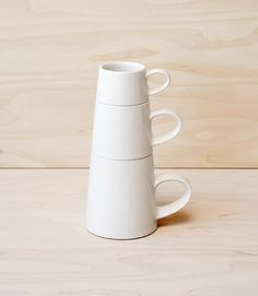 Stacking Mugs by Billy Lloyd Ceramics