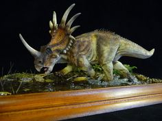 Another of Styracosaurus by Baryonyx-walkeri.deviantart.com on @deviantART