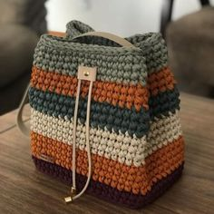 Collection of Crochet Handbag Free Patterns: Crochet Tote Bags, Crochet Crochet Bags, Crochet Purses via, This post was discovered by Sjm, DisHow to Crochet a Cozy Mat – Livemaster - SalvabraniDiscover thousands of images about Carpet Knitting Croc Free Crochet Bag, Crochet Tote, Crochet Handbags, Crochet Purses, Diy Crochet, Crochet Crafts, Diy Crafts, Crochet Bag Tutorials, Crochet Patterns