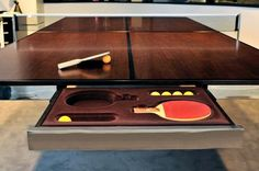 Luxury ping-pong