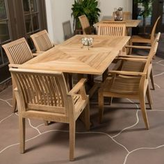 Premium Teak Patio Furniture, Outdoor Furniture