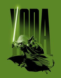 YODA DJ HEADPHONES STAR WARS LARGE PICTURE POSTER GIANT ART HUGE
