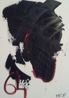 africa64 / acrylic / 50x70