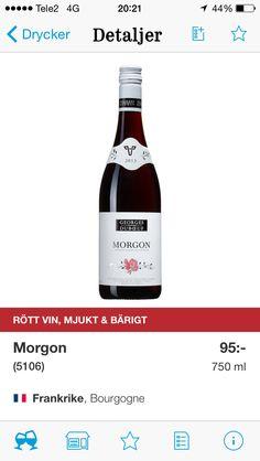 Gott kallt men inte annars. Ett sommarvin när rosé är för blaskigt och stickigt. Inte till mat, men lätta ostar.