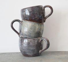 Set of Three Small Mugs