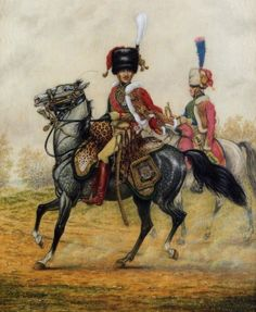 Gen. Charles Lefebvre-Desnouettes - Commander of the Guard Light Cavalry Division at Waterloo of which the Senior Polish Squadron (the Elba Squadron of Polish Lancers under Major Balinski) was part of the 2nd Guard Light Cavalry Regiment commanded by Lt. Col. Baron Jerzmanowski.