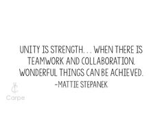 Unity is so important in a time when the nation is divided. Let's remember unity we stand divided we fall. Quote of the day by Allama Iqbal Quotes, Unity Quotes, Teamwork And Collaboration, More Words, Leadership Quotes, Classroom Decor, Food For Thought, Quote Of The Day, Favorite Quotes