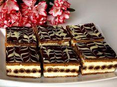 Rurociąg- pyszne ciasto bez pieczenia! - Blog z apetytem Sweets Cake, Polish Recipes, Cupcake Cookies, Cupcakes, Cake Recipes, Deserts, Goodies, Food And Drink, Favorite Recipes