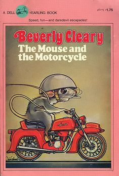 I LOVED this book! The Mouse and the Motorcycle - Beverly Cleary I first read this when I was teaching third grade. I read it to the class and then we decorated our door for Book Week. 90s Childhood, My Childhood Memories, Great Books, My Books, Mouse And The Motorcycle, Classic Motorcycle, Beverly Cleary, Before I Forget, Retro Poster