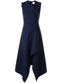 Dion Lee folded sail dress - Blue Having a healthy and fit body is desirable Dress Skirt, Dress Up, Navy Dress, Blue Dresses, Dresses For Work, Dion Lee, Dandy, Classy Outfits, Mantel