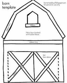 Free quiet book templates to print at home. -- Mail box, trees, etc. homemade by jill: quiet book templates Diy Quiet Books, Baby Quiet Book, Felt Quiet Books, Quiet Book Templates, Quiet Book Patterns, Felt Patterns, Printable Templates, Shape Templates, Printables