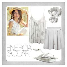 """""""energia solar"""" by tuaptstore on Polyvore featuring Polaroid, Magdalena, Pavilion Broadway, Summer, women and fashionset"""