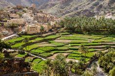 Die Bloggerin Gianna Platten berichtet im Blog blog.nomad-reisen.de über ihre Reise im Oman. Hier ein Bild von der Ortschaft Bilad Sayt, 36 km südlich von Awabi.