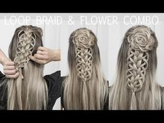 Celtic Inspired Hairstyles Looking for Celtic hair inspiration? Be inspired by this stunning range of styles, including braids, flower wreaths and a modern take on the Medieval look. Braided Hairstyles Tutorials, Box Braids Hairstyles, Wedding Hairstyles, Hair Updo, Fishtail Braid Tutorials, Knotted Braid, Hairstyles 2018, Celtic Hair, Flower Braids