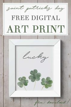 Looking for decorations for St. This free printable is great for cheap, easy, ., patricks day diy decorations Looking for decorations for St. This free printable is great for cheap, Saint Patricks Day Art, St Patricks Day Quotes, St Patricks Day Food, Diy St Patricks Day Decor, St Patricks Day Pictures, St. Patrick's Day Diy, Spring Break, St. Patrick's Day, Santos