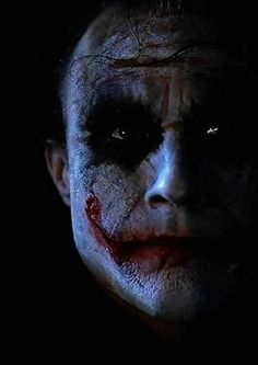 The Joker from The Dark Knight played by Heath Ledger