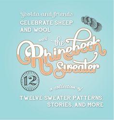 The Rhinebeck Sweater- book
