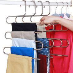5 Tier Stainless Steel Hangers