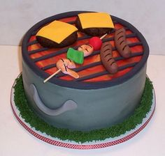 Backyard Grill  on Cake Central