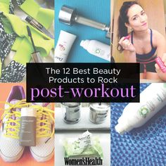 Click through for 12 of the best beauty products to rock post-workout! #WHBeautyAwards