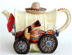 Conestoga Wagon Teapot