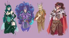 'Tremble in fear' Meet the baddies of Equestria! Mlp, Screaming For Vengeance, Queen Chrysalis, Banana Bus Squad, Nightmare Moon, Rule 63, Rainbow Dash, My Little Pony, Baddies