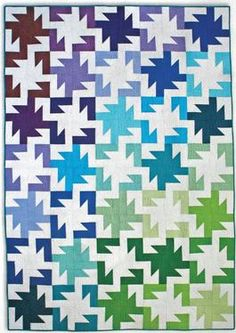 Sparkler Quilt Pattern Download by Freshly Pieced now available at connectingthreads.com