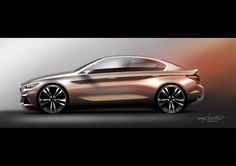 BMW Concept Compact Sedan Previews 1- Or 2-Series Sedan
