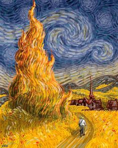 Vincent Van Gogh, Artist Van Gogh, Van Gogh Art, Starry Night Background, Starry Night Art, Starry Nights, Dark Wallpaper Iphone, Doodle Art Drawing, Van Gogh Paintings