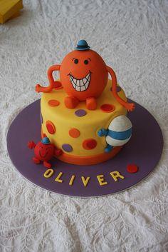Mr Men Birthday Cake My Cakes Pinterest Birthday Cakes - Mr tickle birthday cake