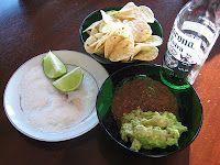 Super Simple Salsa recipe, and simple guac recipe . . .www.jensfoodlove.blogspot.com