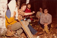 On the set of EVIL DEAD in 1980