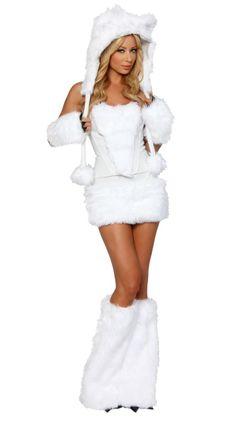 Polar Bear Womens Fancy Dress Costume - £29.95