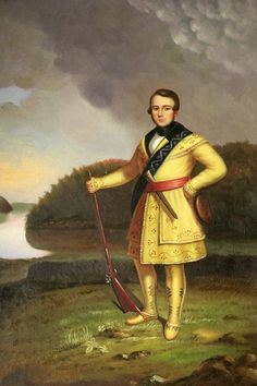 George Caleb Bingham, Portrait of Leonidas Wetmore - Hand Painted Oil Painting on Canvas