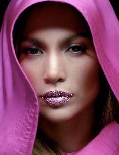 Jennifer Lopez's Jewelled Lips, ELLE UK