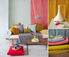 Sofa.  Kristin Perers Photography.  Via LanaLou Style