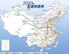 終於有人把高鐵圖畫得像地鐵一樣方便! 人手一份,出行必備!有意到中國自由行的朋友一定要列印收藏起來,這太好用了!
