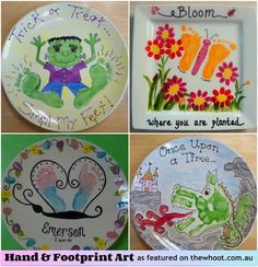 Foot print art