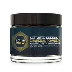 $25 || If your teeth are sensitive or you're not a fan of chemicals, this is the teeth whitening route for you. It's made with refined coconut charcoal powder, bentonite (absorbs toxins), and orange seed oil, and all you have to do is dip a damp toothbrush into the powder and brush your teeth for one to two minutes and then rinse. It's not pretty—your mouth will be covered in blacks suds—but the result will be a brighter smile, naturally.