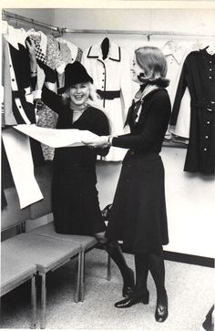 Ginger Rogers promoting a Fashion Line with Jane Pauley Jane Pauley, Ginger Rogers, Fashion Line, Virginia, Dancer, Actresses, People, Beautiful, Female Actresses