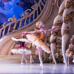 Robyn Hendricks as one of the fairies in the prologue of David McAllister's The Sleeping Beauty for the Australian Ballet. Photography Kate Longley