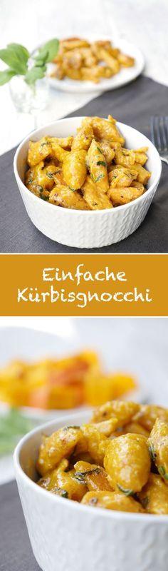 Super leckere Kürbisgnocchi - ganz einfach selbstgemacht - Gaumenfreundin Foodblog #kürbis #kürbisrezepte #gesunderezepte #vegetarisch #rezepte #herbstrezepte