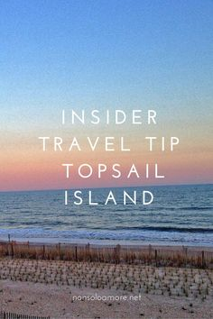 Can't wait to make some memories with our family at Topsail this year.