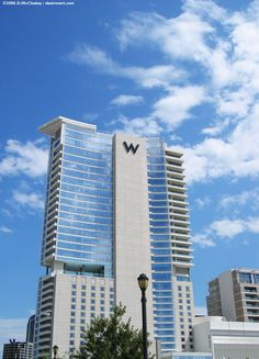 The W Hotel and Residents in Dallas...you MUST stay here when in Dallas!