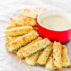 Baked Parmesan Zucchini Sticks